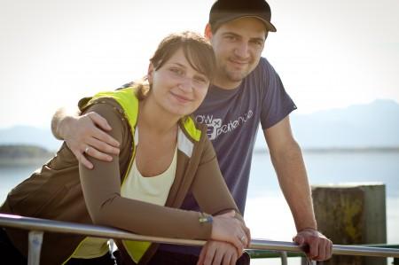 Rene und Sali Chiemsee